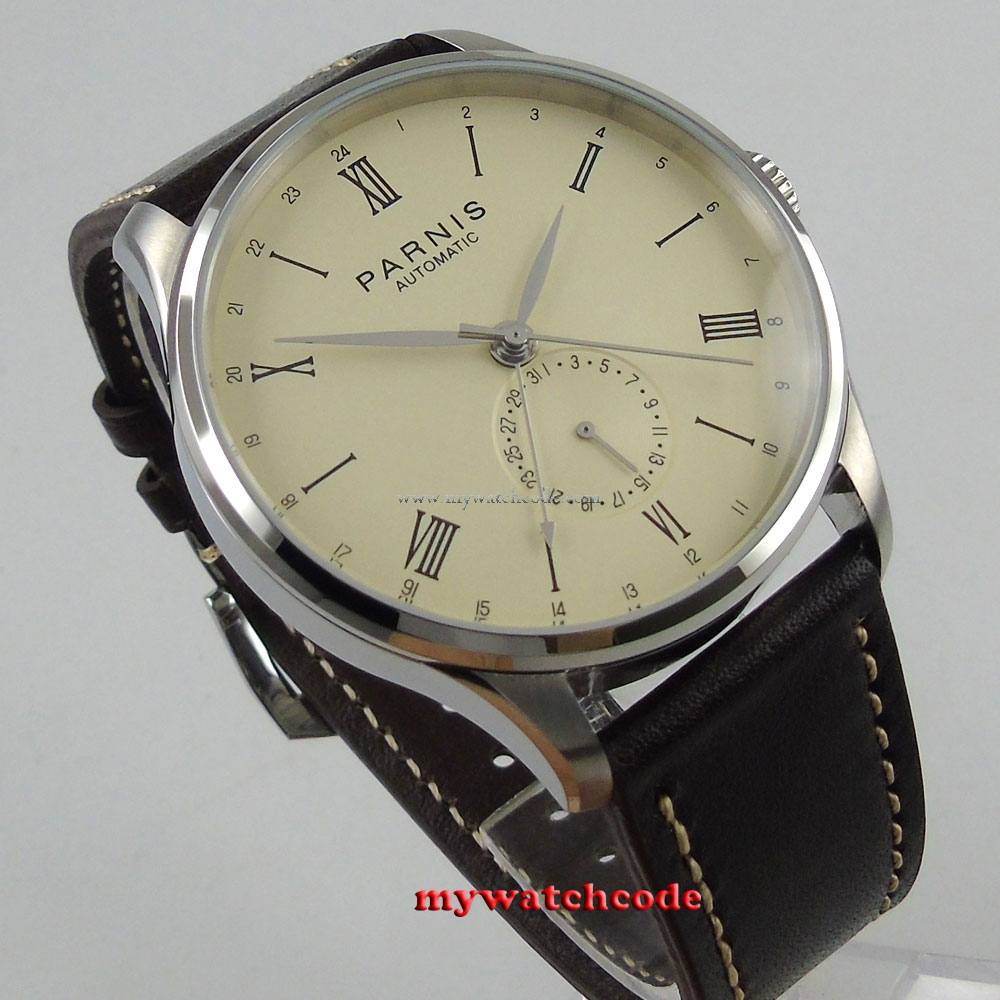 reviews htm connection watch analog men french dial s white watches